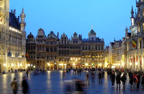 Brusel - Grand place